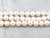 Freshwater Pearl Three Strand Beaded Necklace