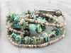Native American Turquoise Shell Beaded Necklace