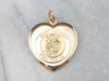 Antique Saint Anthony Gold Locket