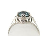 The Sturbridge Blue Zircon Ring from the Elizabeth Henry Collection