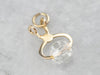 14K Gold Old Fashioned Ice Tongs Charm