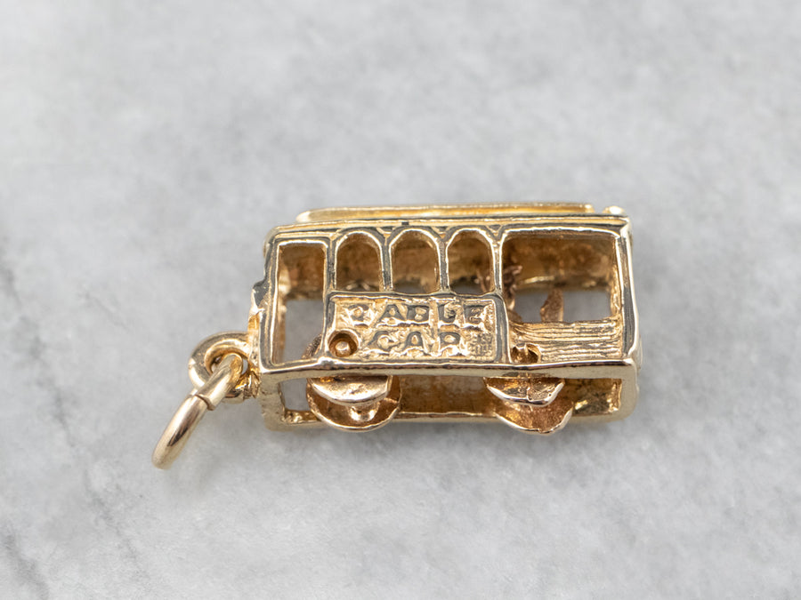 San Francisco Cable Car Charm