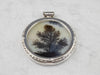 Huge Dendritic Agate Sterling Silver Pendant