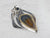 Huge Agate Sterling Silver Statement Pendant