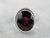 Bold Sterling Silver Garnet Ring