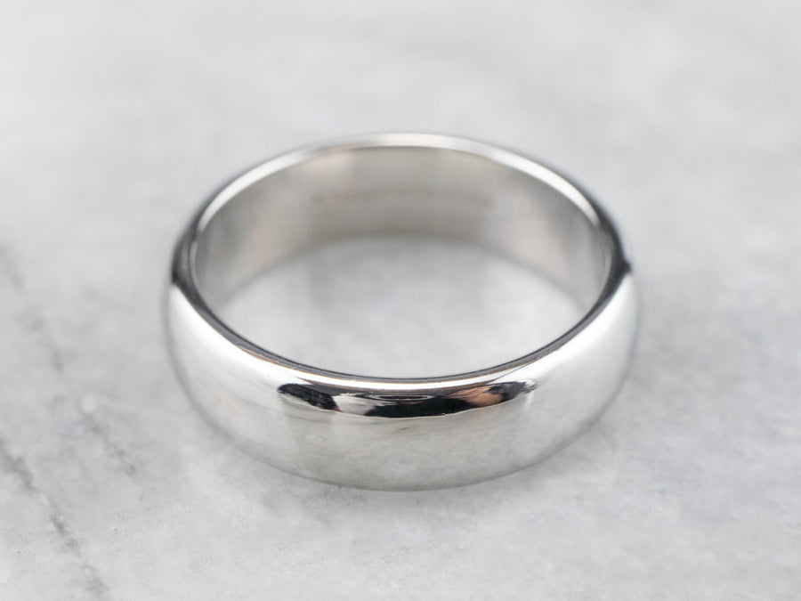 Vintage Tiffany & Co Platinum Wedding Band