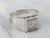 Men's Vintage Diamond Solitaire Ring