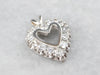 Diamond White Gold Heart Pendant