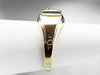 Retro Diamond Two Tone Gold Men's Ring