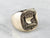 Boston Police Detective Gold Signet Ring