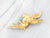 Diamond and Opal Bird 18K Gold Brooch