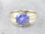Vintage Blue Star Sapphire Ring
