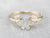 GIA Certified Diamond Three Stone Engagement Ring