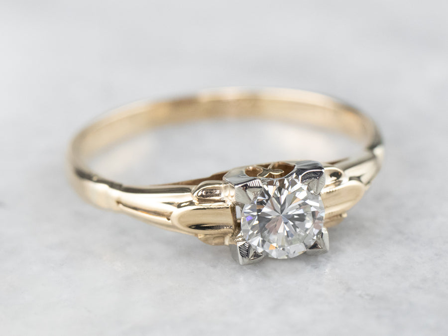 Vintage 1930s Diamond Engagement Ring