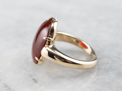 Antique Carnelian and Gold Ring