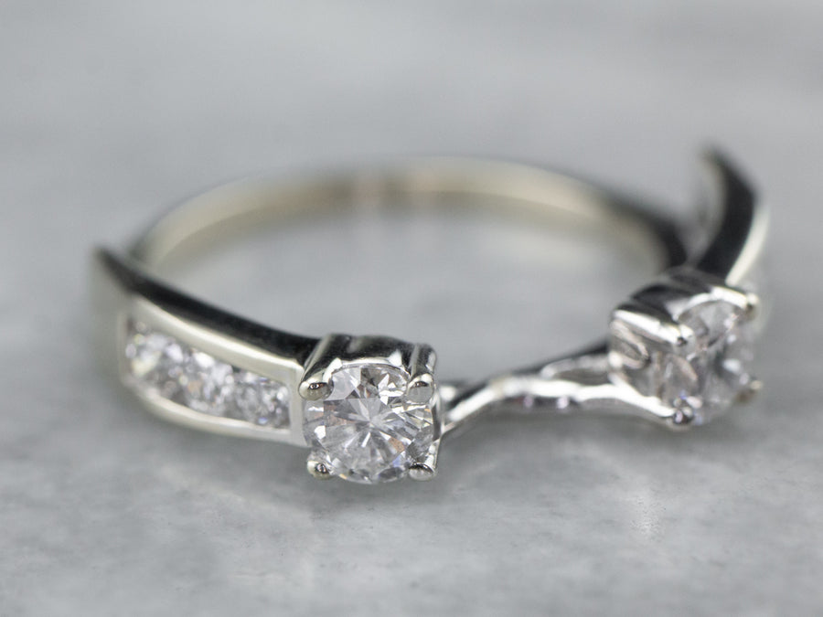 Diamond Solitaire Enhancer Band