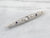 Art Deco Diamond White Gold Filigree Bar Pin