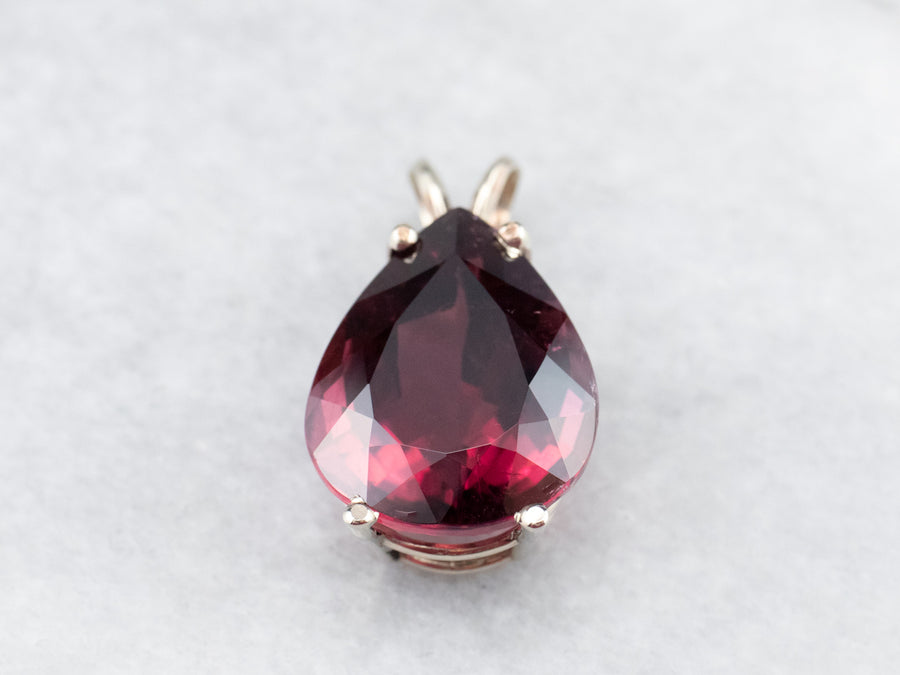 Pink Tourmaline Cocktail Pendant