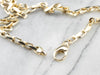 Vintage Yellow Gold Chunky Chain Necklace