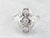 Art Deco Diamond White Gold Dinner Ring
