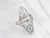 Antique Old Mine Cut Diamond Dinner Ring