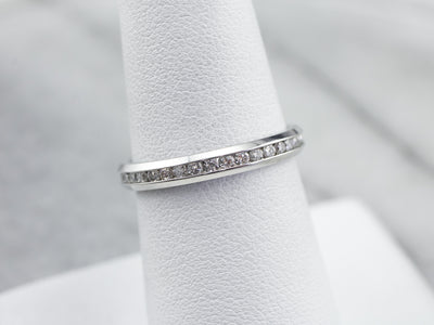 Platinum Diamond Eternity Wedding Band