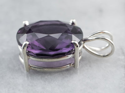 Sterling Silver Amethyst Pendant