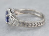 Tanzanite Diamond White Gold Ring