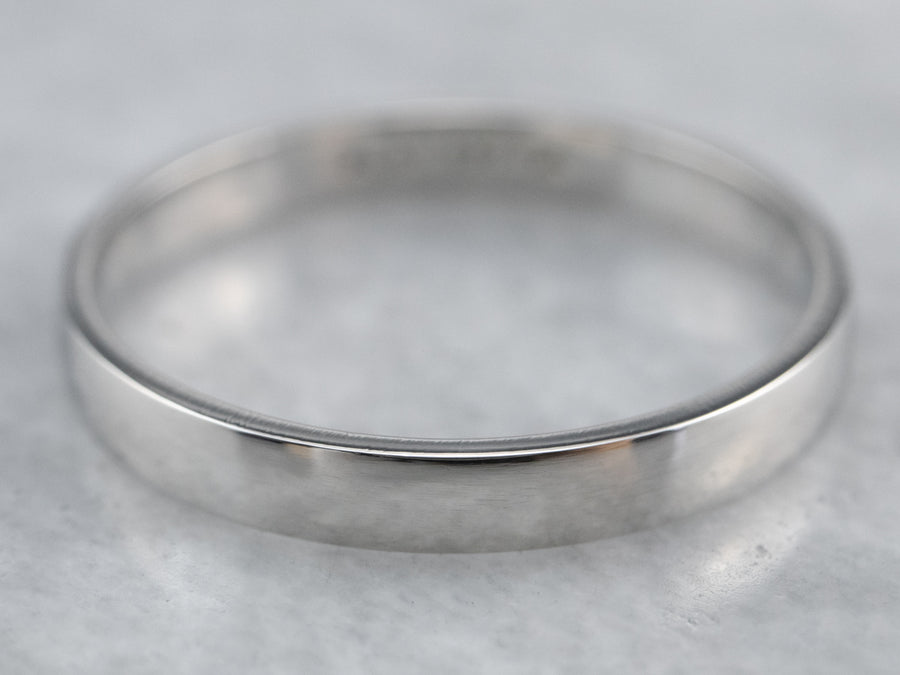 Sleek Platinum Band