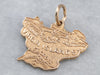 Virgin Island Gold Charm Pendant