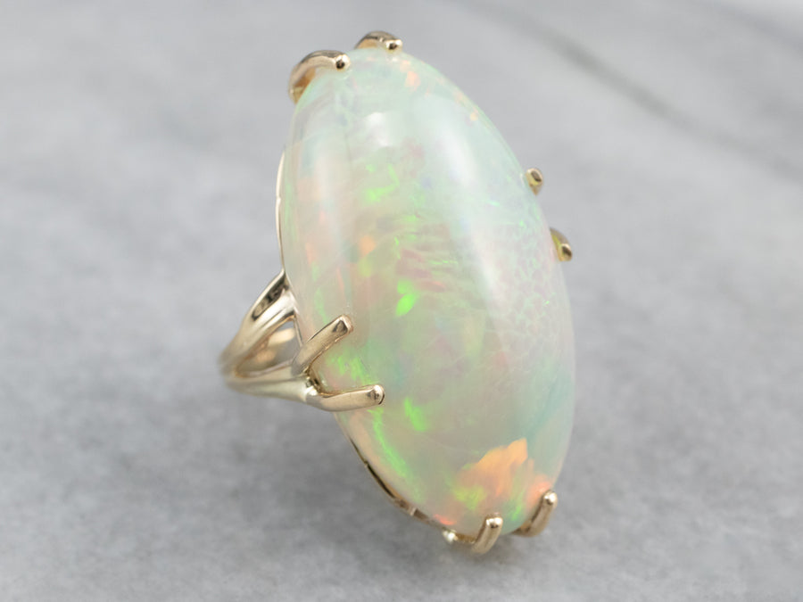 Vintage Opal Cocktail Ring