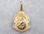 18K Gold Small Saint Joseph Medallion
