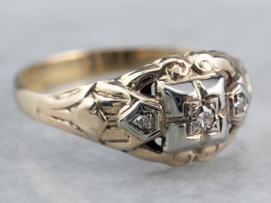 1930's Diamond Engagement Ring