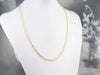 14K Gold Twisted Rope Chain Necklace