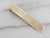 Vintage Textured Gold Tie Bar