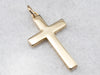 Bold Yellow Gold Cross