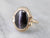 Retro Cat's Eye Sillimanite Gold Ring