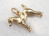 14K Gold Doberman Pinscher Dog Charm