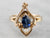 Victorian Sapphire and Seed Pearl Conversion Ring