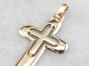 Vintage Yellow Gold Cross
