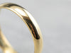 22K Gold Plain Wedding Band