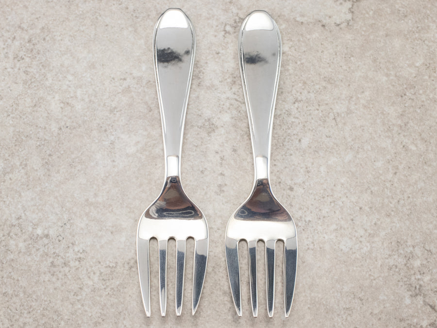 Sterling Silver Vintage Set of Cocktail Forks