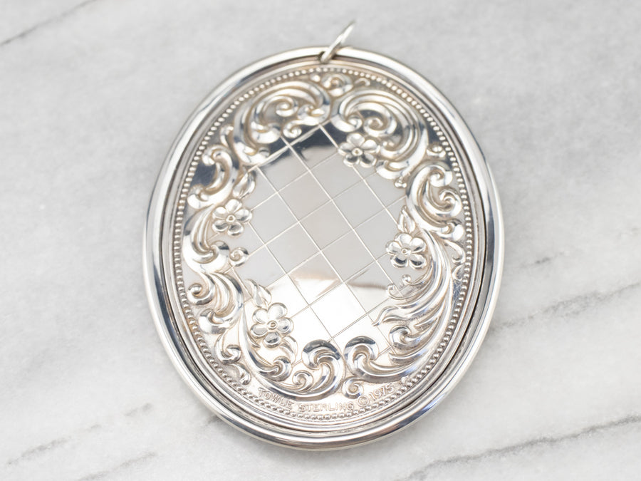 Towle Sterling Silver 1979 Medallion
