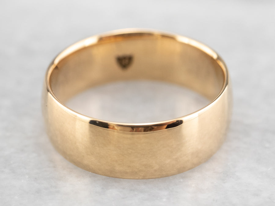 Antique 1882 Gold Band