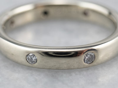 White Gold Diamond Etoile Band