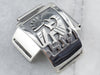 Navajo Kokopelli Sterling Silver Watch Tips