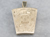 Antique Gold 1856 Masonic Locket