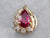 Ruby and Diamond Gold Pendant