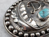 Navajo Turquoise Billy Slim Belt Buckle