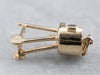 14K Gold Moving Rotisserie Grill Charm
